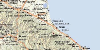 Rimini-mapka