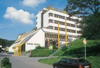 Ubytov�n� Luha�ovice - Hotel Z�les�