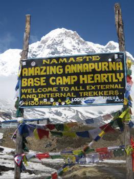 Nepál, Annapurna Base Camp