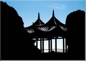 Čína - Pavillons
